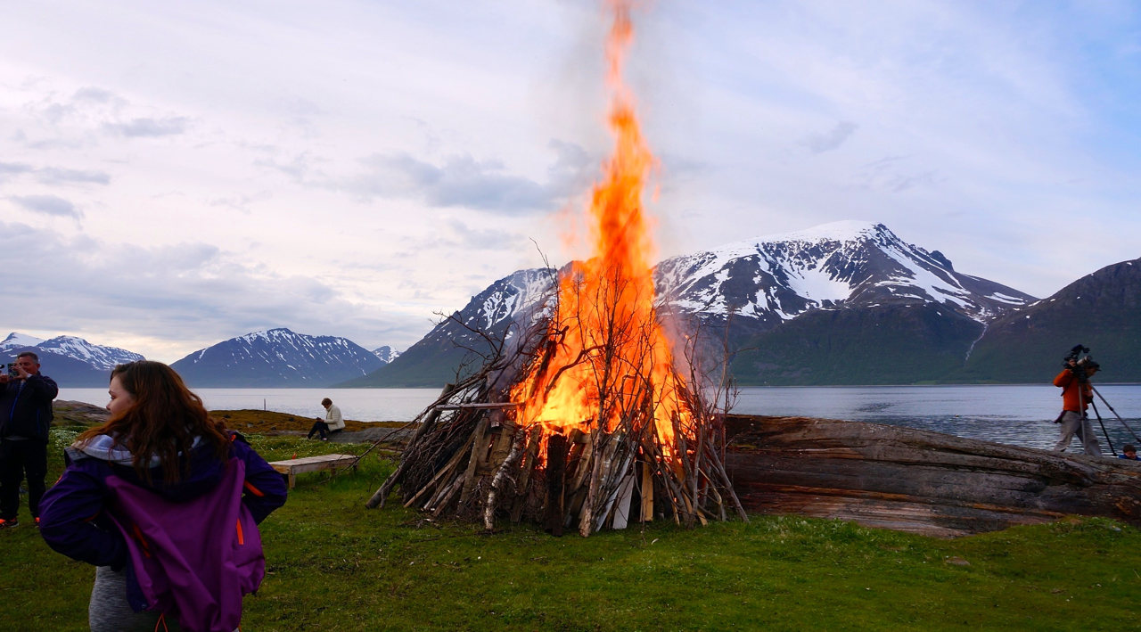 St. Hansbål Vorterøya